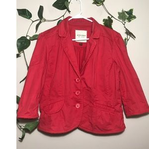 Sonoma lifestyle Large Coral Red Jacket